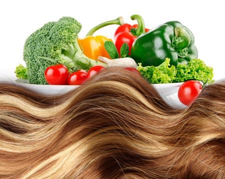 cibo e capelli