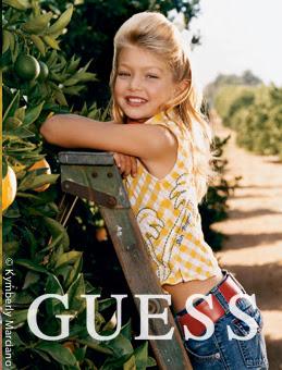 Gigi Hadid Guess Kids